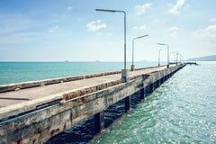 Old Concrete Bridge royalty free stock photography
