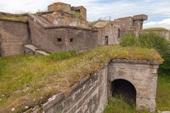 Old concrete bunker from WWII period Royalty Free Stock Photo