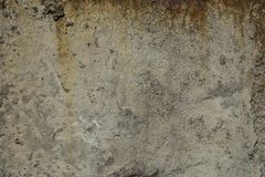 Old concrete with decal Stock Photography