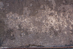 Old concrete with decal Royalty Free Stock Photography