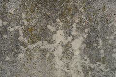 Old concrete with decal Stock Photo