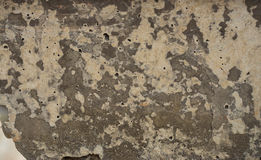 Old concrete with decal Royalty Free Stock Photo