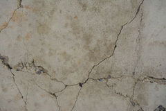 Old concrete with decal Royalty Free Stock Image