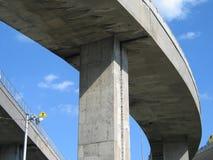 Old Concrete Highway Stock Photo