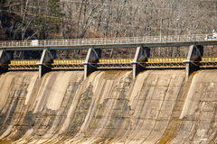 Old Concrete Hydroelectric Dam Stock Images