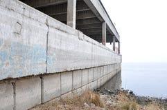 Old concrete jetty Stock Photos