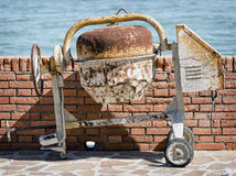 Old concrete mixer Royalty Free Stock Photo