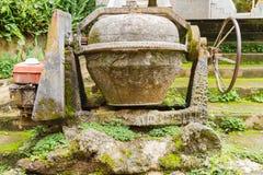 Old Concrete Mixer Machine Royalty Free Stock Photo