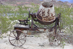 Old concrete mixer Royalty Free Stock Image