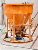 Old concrete mixer Royalty Free Stock Images
