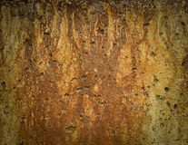 Old concrete panel Royalty Free Stock Image