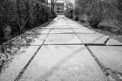 Old Concrete Pathway Royalty Free Stock Image