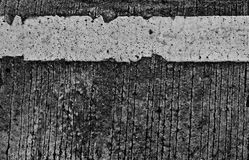 Old concrete road surface. Royalty Free Stock Photography