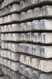 Old concrete sleepers Stock Photography