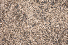 Old concrete texture with gravel. Background Stock Image