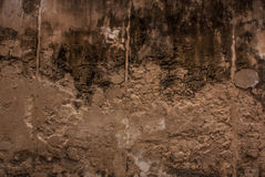 Old concrete wall. Royalty Free Stock Photography