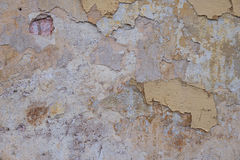 Old concrete wall with cracks Stock Photo