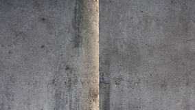 Old concrete wall with seam Royalty Free Stock Photography