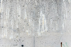 Old concrete wall with traces Stock Photography