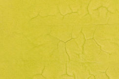 Old concrete yellow wall background and texture Stock Photo