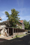 Old condemned wooden house. In Germany Royalty Free Stock Photo