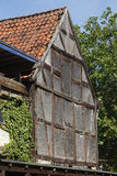 Old condemned wooden house. In Germany Stock Photography