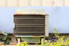 Old condensing unit Royalty Free Stock Photos