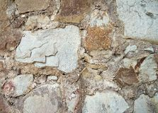 Old stone wall textured background Royalty Free Stock Image