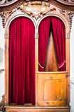 Old confession booth Royalty Free Stock Images