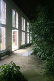 Old conservatory with plants Royalty Free Stock Photo
