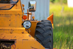 Old construction equipment Stock Images