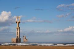 Old construction marina of Sidi Ifni Royalty Free Stock Photography