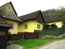 Old construction village, Vlkolinec, Slovakia Royalty Free Stock Photography