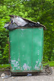 Old container Royalty Free Stock Photography
