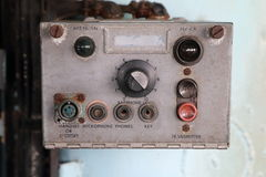 Old control panel box Royalty Free Stock Image