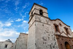 Old convent. On a sunny day stock image