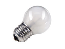 Old conventional light bulb Royalty Free Stock Images