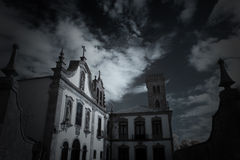 Old conventual church Royalty Free Stock Images