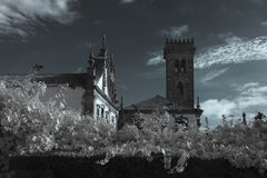 Old conventual church Royalty Free Stock Photo