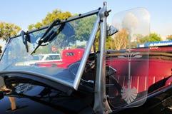 Old convertible car (horizontal) Royalty Free Stock Images