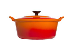 Old cooking pot isolated Royalty Free Stock Image
