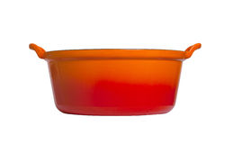 Old cooking pot isolated Stock Photos