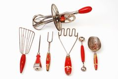 Old Cooking Utensils stock image