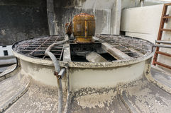 Old cooling tower Royalty Free Stock Image