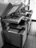 Old copiers in bangkok Royalty Free Stock Photos