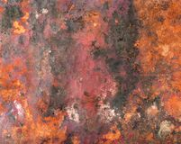 Old Copper Background Texture Royalty Free Stock Photos