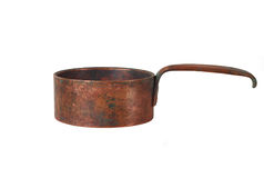 Old copper bowl Royalty Free Stock Photography