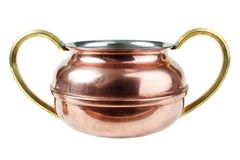 Old copper cup Royalty Free Stock Photos