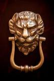 Old copper door handle Stock Images