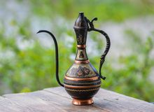 Free Old Copper East Jug Royalty Free Stock Photography - 53306677